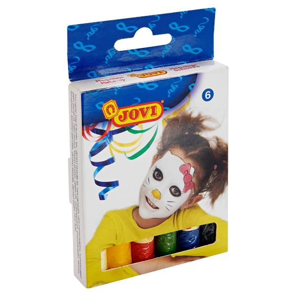 Jovi Pkt.6 15g Face Paint Sticks