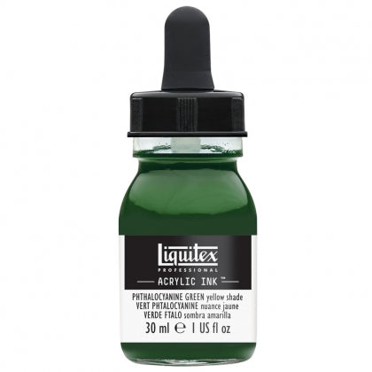 Liquitex - Acrylic Ink - 30ml Phthalo Green Yellow Shade