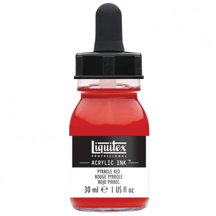 Liquitex - Acrylic Ink - 30ml Pyrole Red