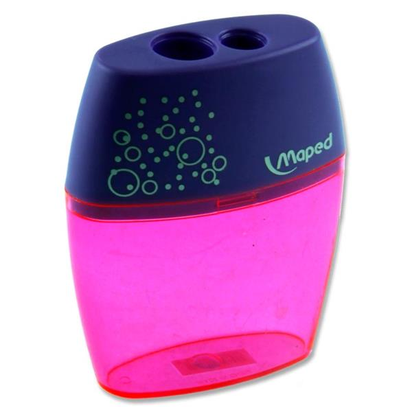 Maped Shaker Twin Hole Pencil Sharpener