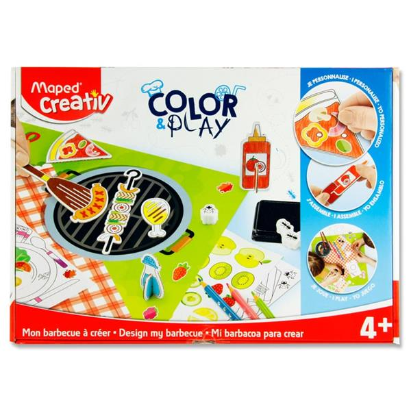 Color & Play - Design My Barbecue