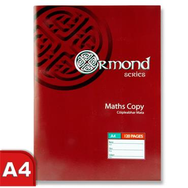 A4 120pg Maths Copy Book
