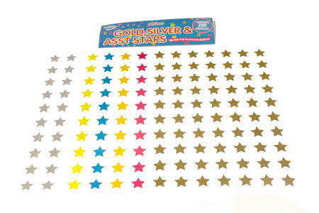 Reward Stickers Assorted Stars
