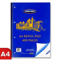 Premier A4 400pg Refill Pad - Side
