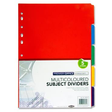 Premier Office  Subject Dividers