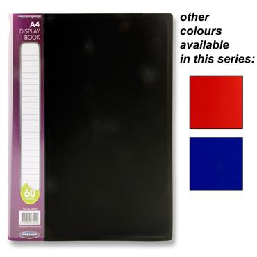 Premier Office A4 60 Pocket Display Book Cdu