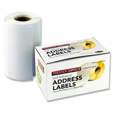 250 x 89 by 37mm Address Labels
