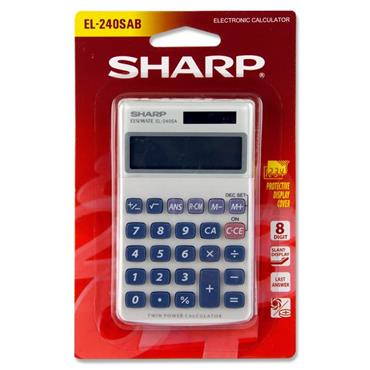 Sharp El-240sab Primary Calculator
