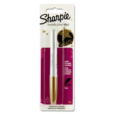Sharpie Metallic Permanent Marker - Gold