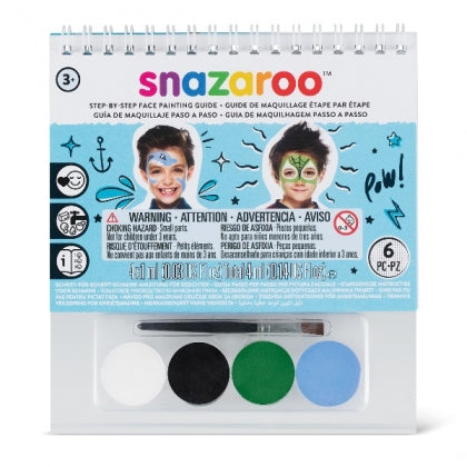 Snazaroo - A6 Booklet - Under the Sea