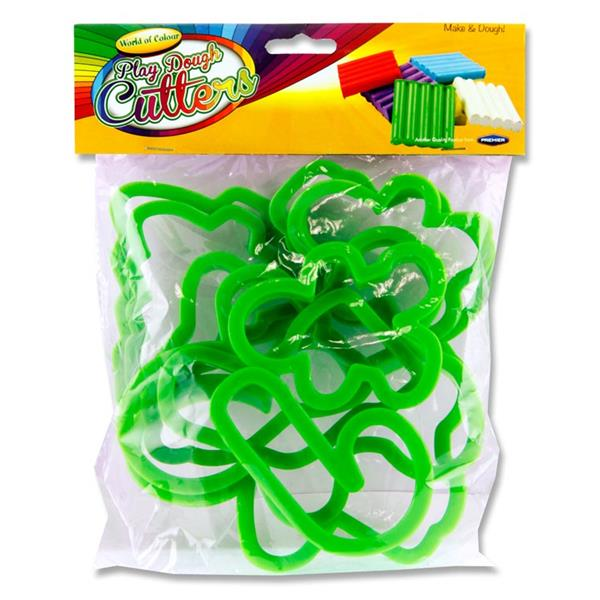 Play Dough Cutters - Christmas (Woc Pkt.10 9-14cm)