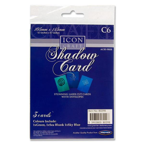 Icon Shadow Cards & Envelopes