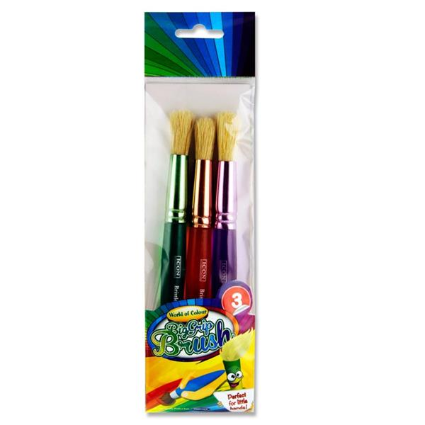 Big Grip Brush Set - Round Toddler