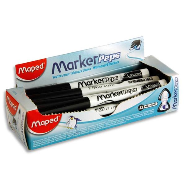 Maped Small Whiteboard Marker - Black