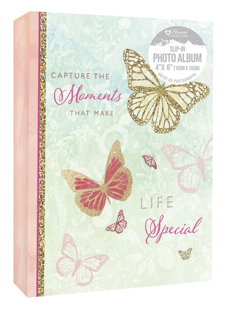 Butterfly 6 x 4inch Photo Album