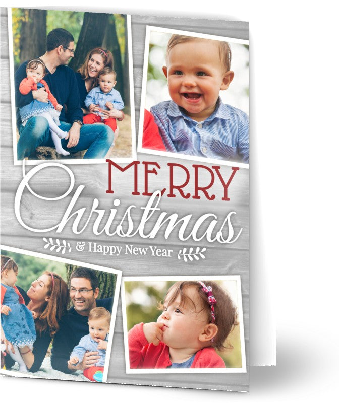 50 x Personalised Christmas Cards