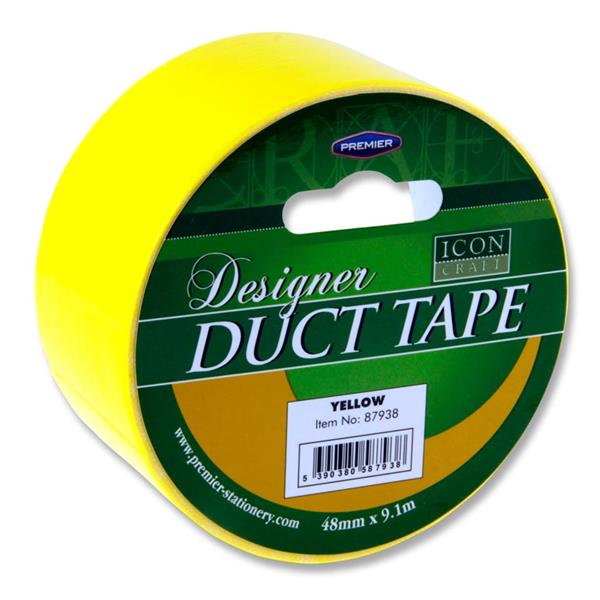 Duct Tape 48mm X 9m - Yellow