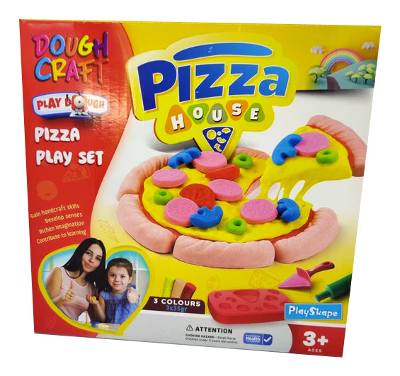 Pizza House Dough Craft Set