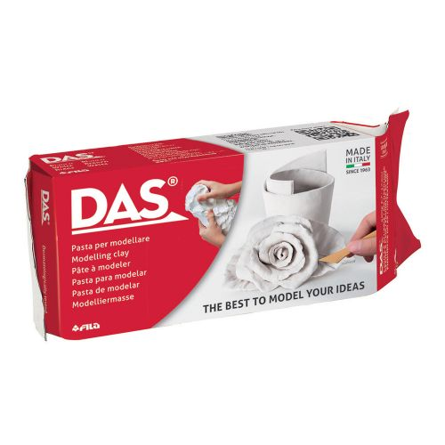 DAS 1/2 kg White Air Hardening Modelling Clay