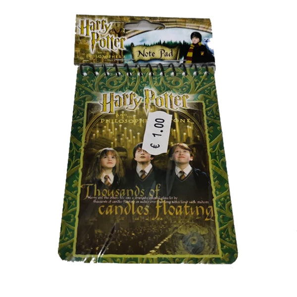 Harry Potter Note Pads (2units)