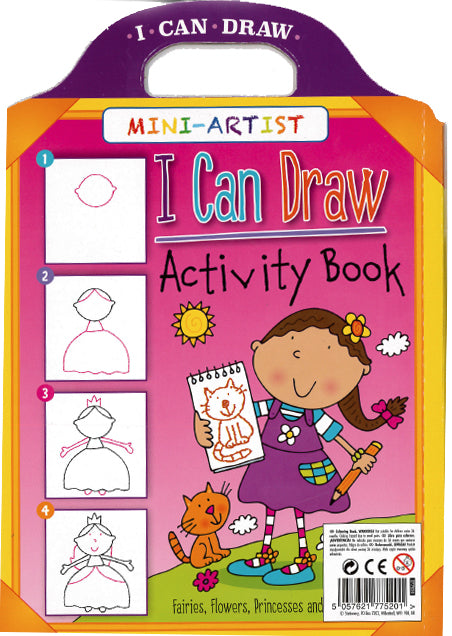 I Can Draw Activity Book (Girls)