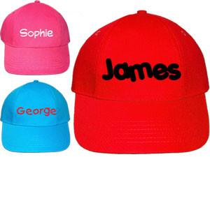 Personalised Kids Cap