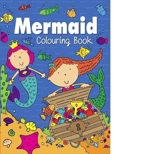 Mermaid Colouring Book Set