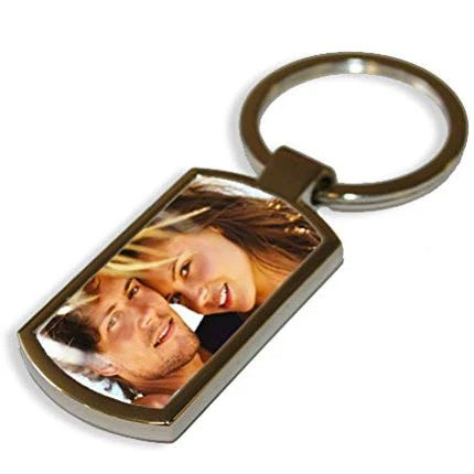 Personalised Metal Keyring