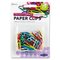 multicolour paper clips mallow cork