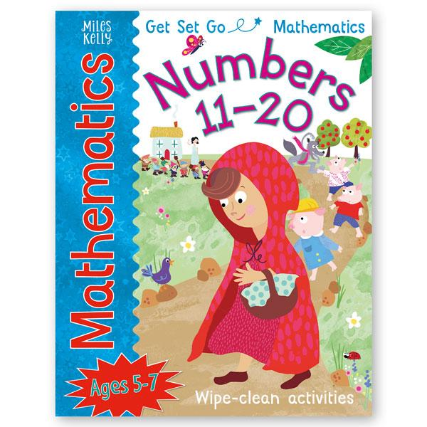Mathematics 11- 20 - Wipe-clean Activities