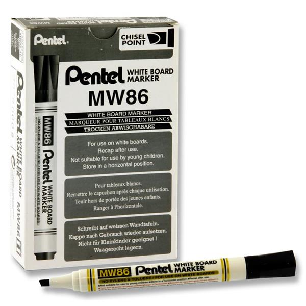 Whiteboard Marker Chisel Point - Black