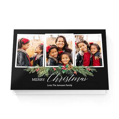 100 x Personalised Christmas Cards