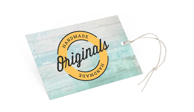 100 x Personalised  Hang Tags (300gsm)