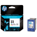 HP 22 Original Ink Cartridge Tri Color