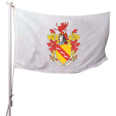 Coat of Arms Rope and Toggle Flag