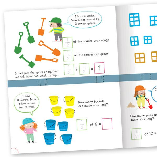 Fractions - Mathematics  - Wipe-clean Activities