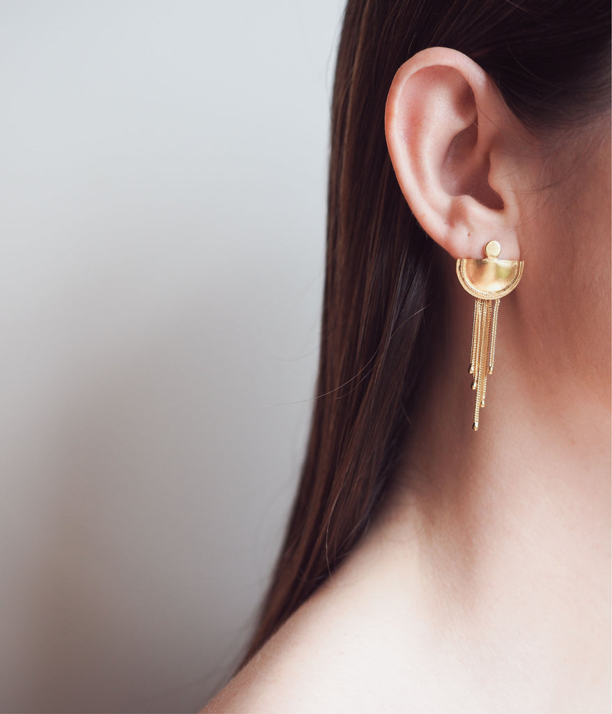 Beltia Earrings Gold Plated