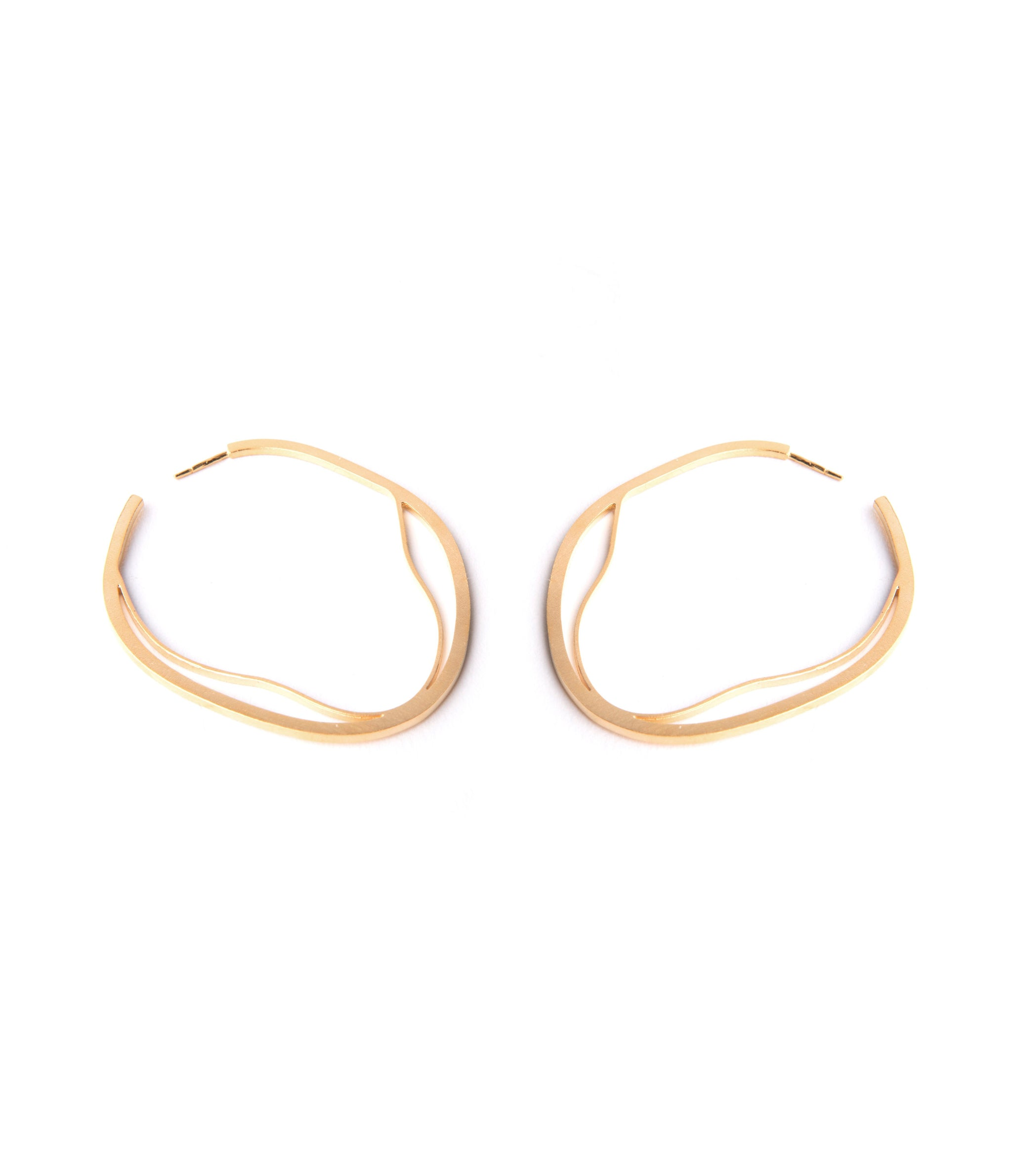 Nova Líneas Earrings Gold Plated