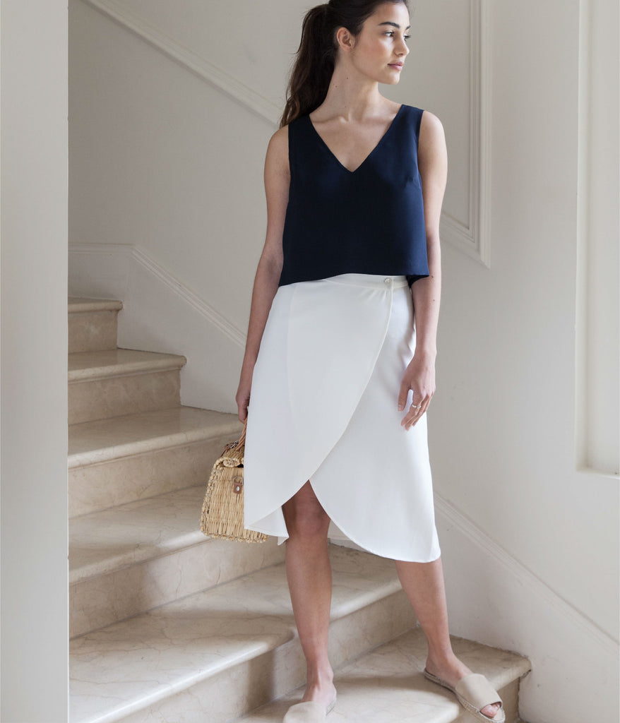 The Maria Skirt Pearl