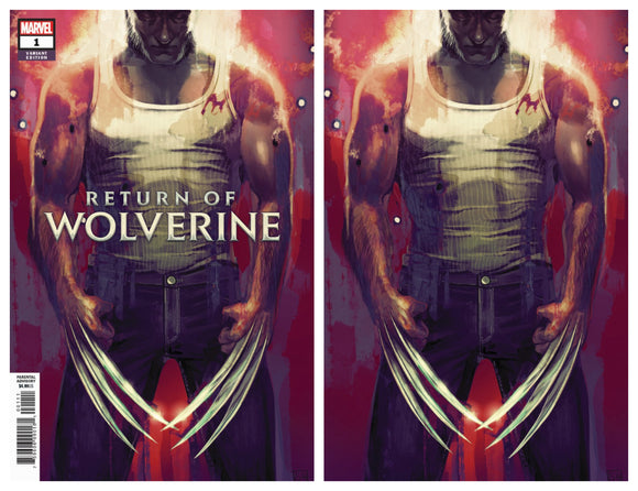 Return of Wolverine #1 Stephanie Hans Variant - Virgin & Trade Dress