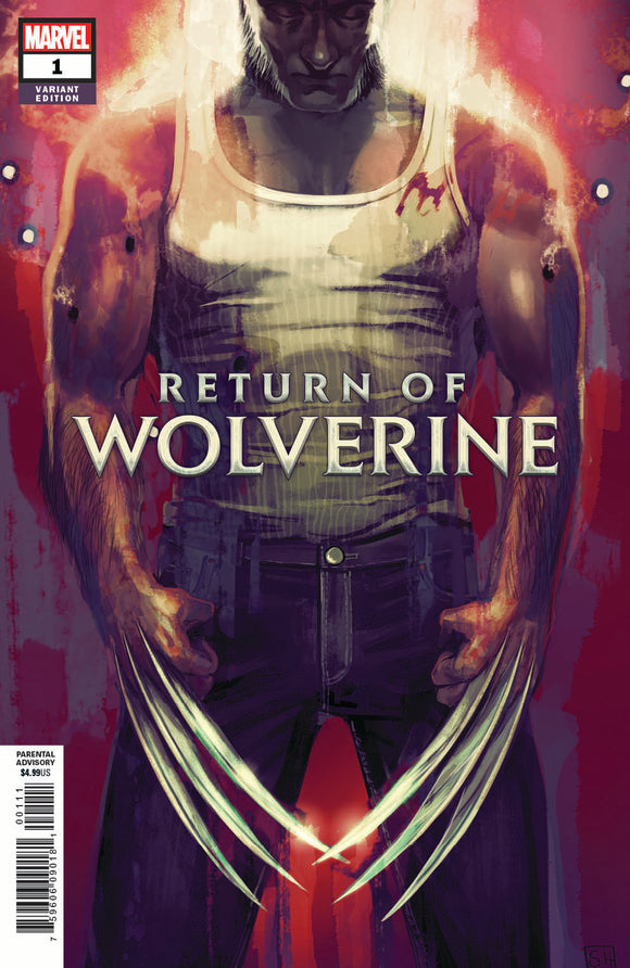 Return of Wolverine #1 Stephanie Hans Variant - Trade Dress
