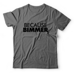 Because BIMMER Shirt - Gray