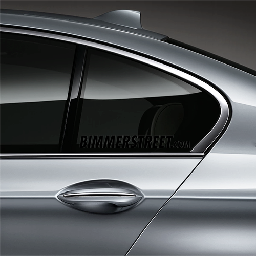 BIMMERSTREET Window Decal - Black