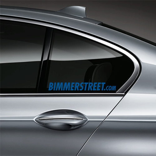 BIMMERSTREET Window Decal - Blue