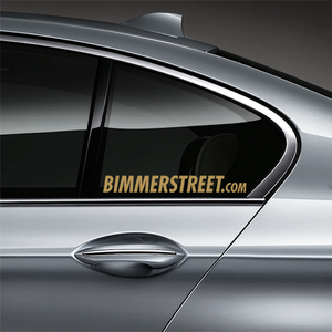 BIMMERSTREET Window Decal - Gold