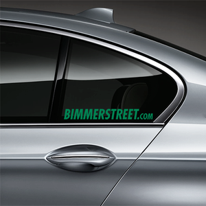 BIMMERSTREET Window Decal - Green