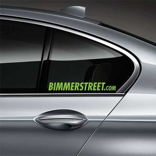 BIMMERSTREET Window Decal - Lime