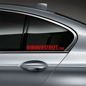 BIMMERSTREET Window Decal - Red