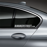 BIMMERSTREET Window Decal - Silver