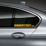 BIMMERSTREET Window Decal - Yellow